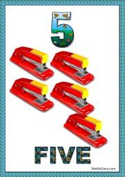 5 staplers