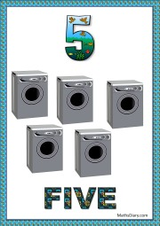 5 washing machines