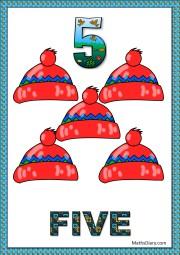 5 woolen caps