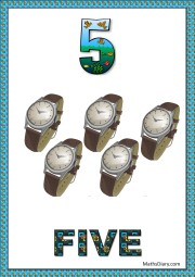 5 wrist watches