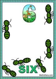 6 ants