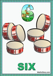 6 drums