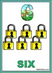 6 locks