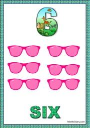 6 pink glasses