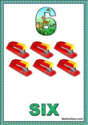 6 staplers