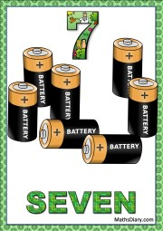 7 batteries
