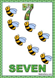 7 bees
