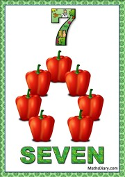 7 bell peppers