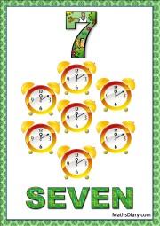 7 clocks