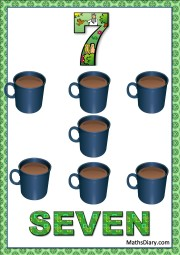 7 coffee mugs
