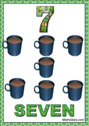 7 coffee mugs