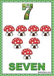 7 mushroom houses