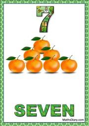 7 oranges
