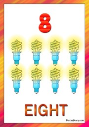8 CFLs