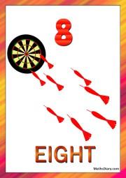 8 arrows