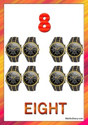 8 black wrist watches