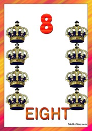 8 crowns