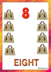 8 hand purses