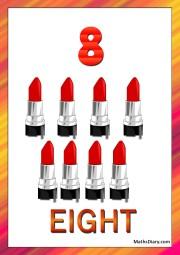 8 lipsticks