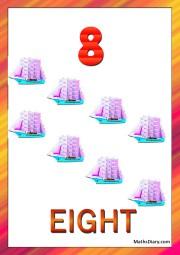 8 ships