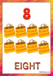 8 yellow locks