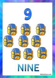9 backpacks