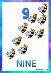 9 bees