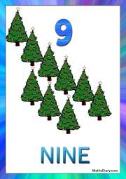9 christmas trees