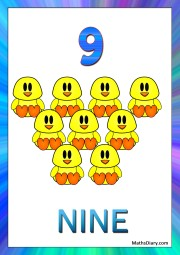 9 ducklings