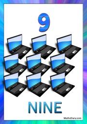9 laptops