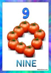 9 tomatoes