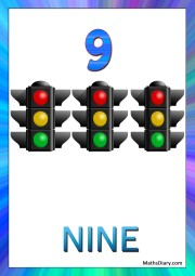 9 traffic lights