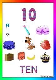 10 objects -worksheet 1