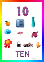 10 objects -worksheet 3