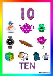 10 objects -worksheet 4