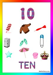 10 objects -worksheet 5