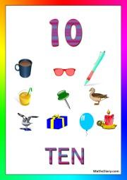 10 objects -worksheet 6