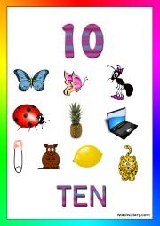 10 objects -worksheet 7