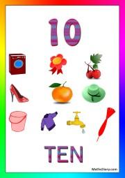 10 objects -worksheet 8