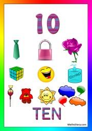 10 objects -worksheet 9