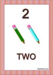 2 pencils
