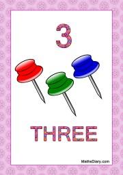 3 board pins
