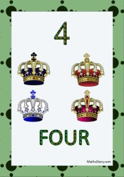 4 crowns