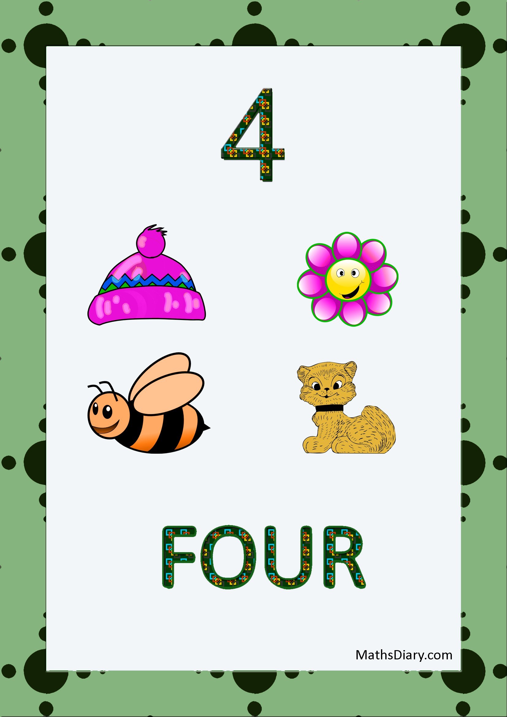 Learning counting and recognition of number 4 u2013 Level 3 ...