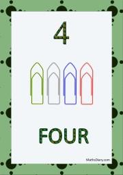 4 papar clips