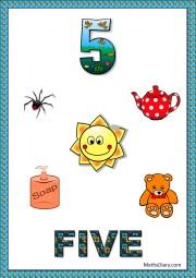 5 objects- worksheet 10