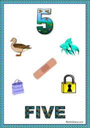 5 objects- worksheet 3