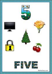 5 objects- worksheet 4