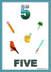 5 objects- worksheet 6