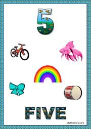 5 objects- worksheet 7